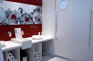 Banheiro Femenino- Arquitetas Michelle Rodrigues eGeovanna Diniz colaboração  ângela Sebba