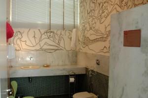Banheiro Masculino- Arquitetos Leo Romano e Génesio  Maranhão