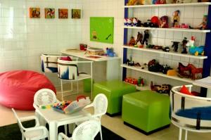 Brinquedoteca- Arquitetos Ednara M. Braga , Flávio Paraguassu, Idyla T. Guimarães e Mônica Chaves